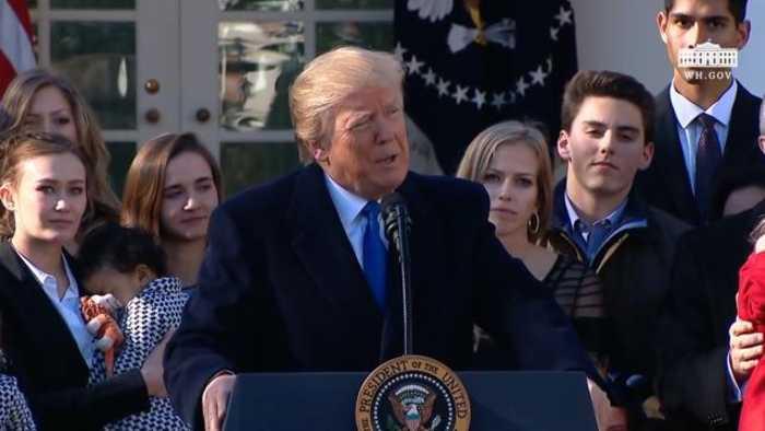 TT Hoa Kỳ Donal Trump thề ủng hộ chính nghĩa phò sự sống
